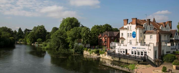 Restaurant On The River Thames | Thames Riviera Hotel