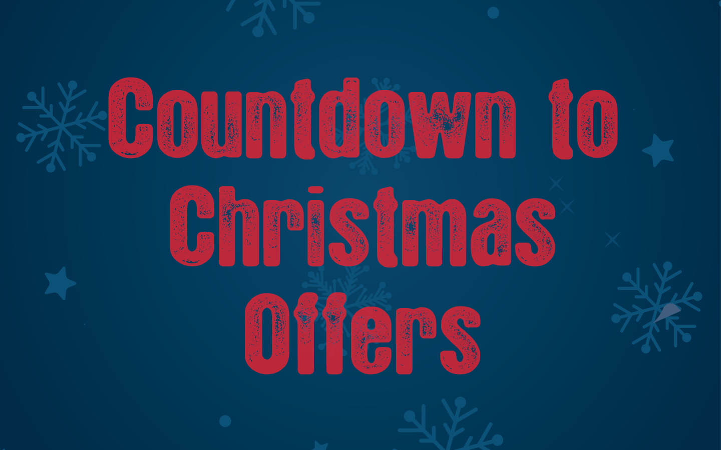 Offers Page Christmas Countdown